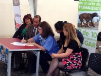 Letter signing Ecuador