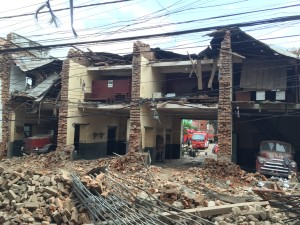 Fire Station Pulchowk area in Lalitpur district