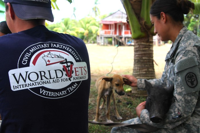 World Vets Contributes to Civil – Military Humanitarian Aid Missions