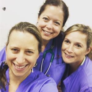 Dr. Brenda Fox (far right)
