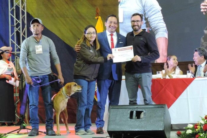 World Vets Receives Recognition from Mayor in Ecuador